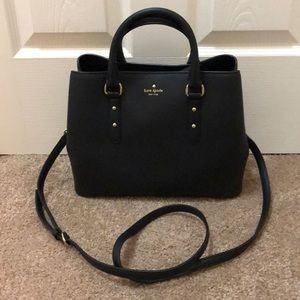 Kate Spade small black satchel bag